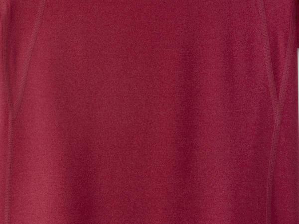 Functional short-sleeved shirt made of organic merino wool with silk