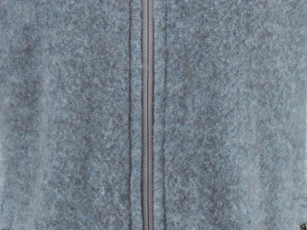 Funktions-Jacke aus Bio-Merinowolle mit Bio-Baumwolle