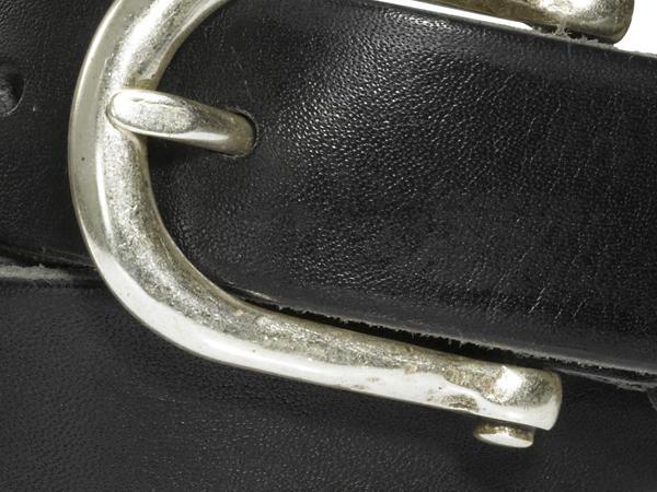 Gürtel aus chromfrei gegerbtem Leder