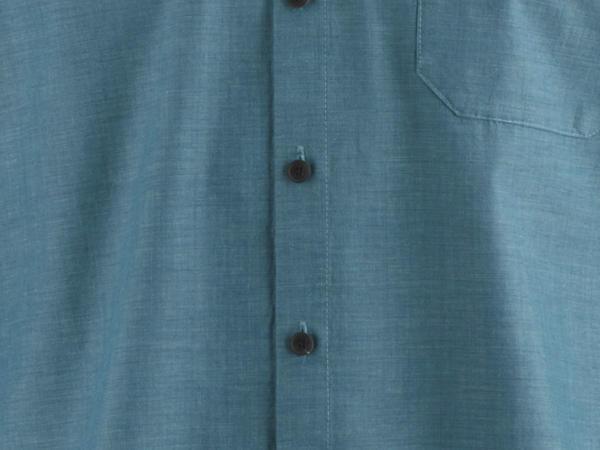 Herren Hemd Modern Fit aus Bio-Baumwolle, Hanf und Yakwolle