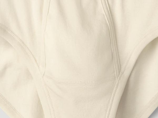 Herren Midi-Slip PureNATURE aus reiner Bio-Baumwolle