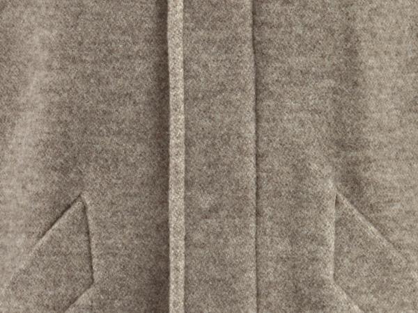 Herren Rhönmantel mit Kapuze aus reiner Schurwolle