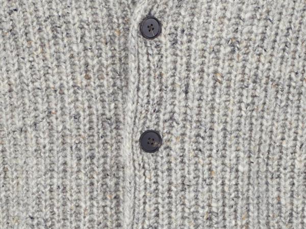 Herren Strickjacke aus reiner Schurwolle
