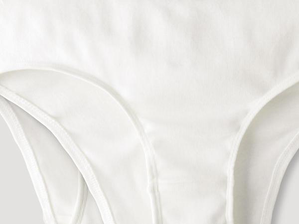 Hüftslip PureDAILY im 2er-Set aus reiner Bio-Baumwolle
