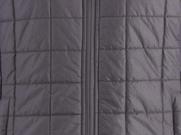 Innovative Stepp-Jacke Ripstop aus Bio-Baumwolle mit Schurwoll-Wattierung