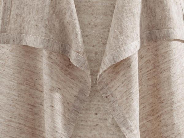 Jacke aus reinem Leinen