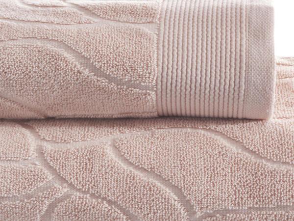 Jacquard-Handtuch aus reiner Bio-Baumwolle