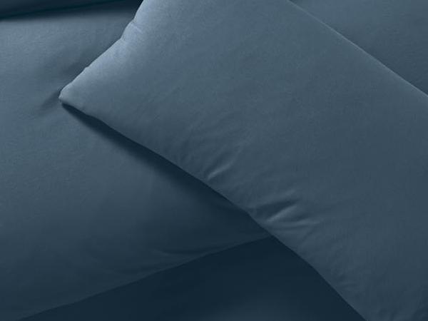 Jersey-Bettwäsche aus reiner Bio-Baumwolle