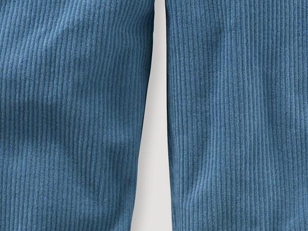 Jersey-Cordhose aus reiner Bio-Baumwolle