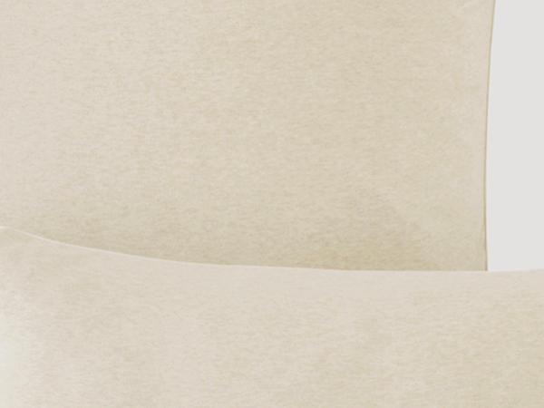 Jersey-Kissenbezug Liam aus reiner Bio-Baumwolle