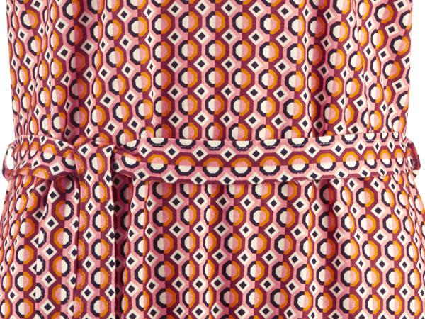 Jersey-Longbluse aus reiner Bio-Baumwolle
