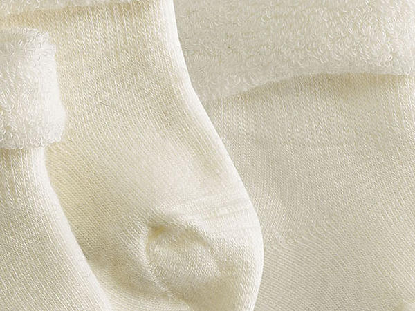 Kinder Frottee-Socke im 2er-Pack aus Bio-Baumwolle