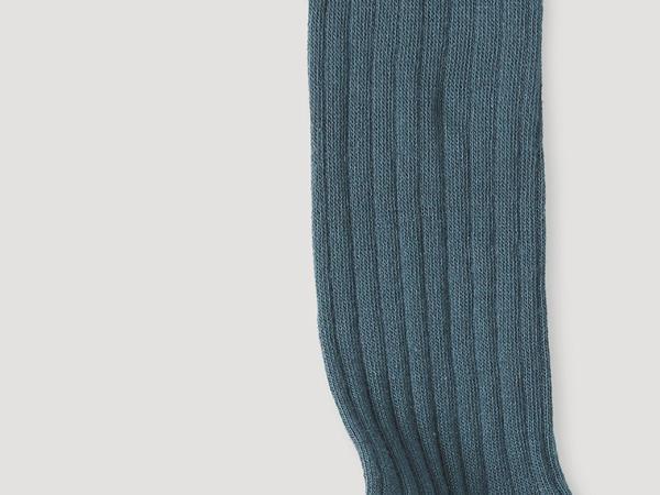 Kniestrümpfe aus Bio-Schurwolle mit Bio-Baumwolle