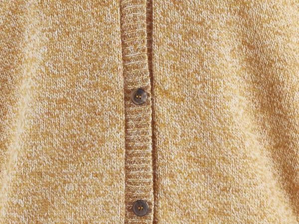 Kurz-Cardigan aus reiner Schurwolle