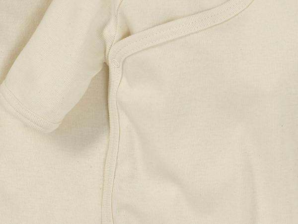 Kurzarm-Wickelbody aus reiner Bio-Baumwolle, 2er-Set