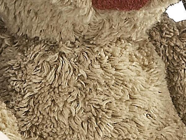Kuschelhase aus Bio-Baumwolle mit Schurwolle