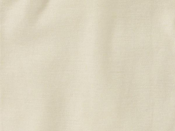 Langarm-Body aus Bio-Merinowolle mit Seide