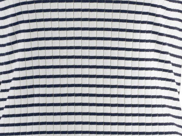 Langarm-Ringelshirt aus reiner Bio-Baumwolle