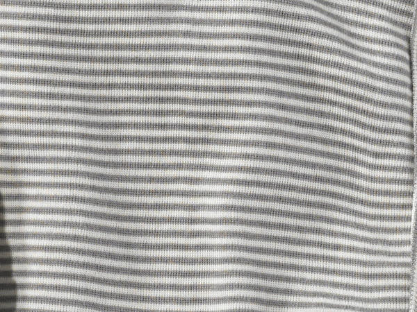 Langarm Wickelbody aus Bio-Merinowolle und Seide
