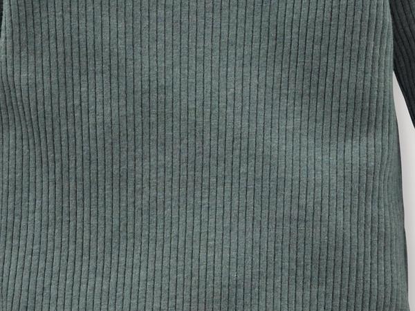 Langarmbody aus Bio-Baumwolle mit Bio-Merinowolle