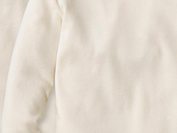 Langarmhemd 2er-Set aus reiner Bio-Baumwolle