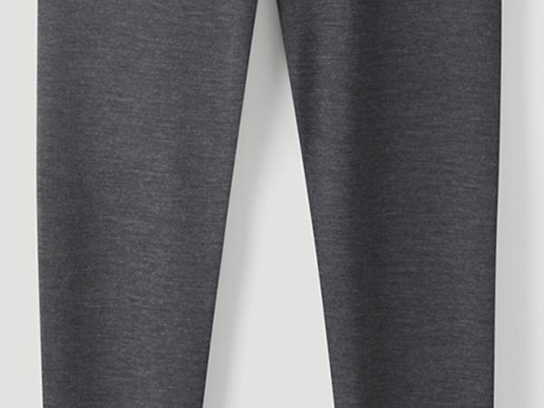 Lange Pants PureMIX aus Bio-Merinowolle und Seide
