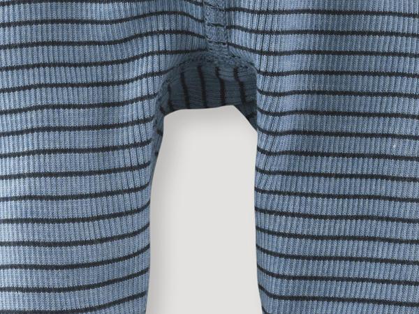 Lange Unterhose aus Bio-Merinowolle und Seide