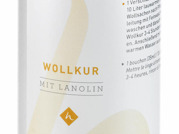 Lanolin-Wollkur