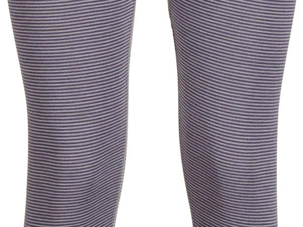Leggings PureSTRIPES aus Bio-Merinowolle und Seide