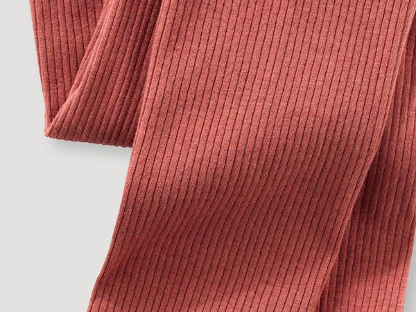 Leggings aus Bio-Baumwolle mit Bio-Schurwolle