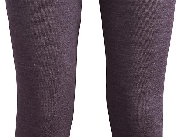 Leggings aus Bio-Merinowolle mit Seide