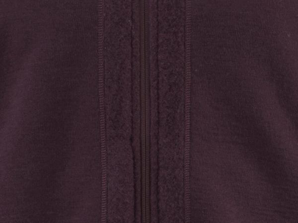 Leichte Wollfleece Jacke für Herren aus reiner Bio-Merinowolle