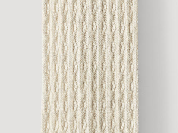 Limited by Nature scarf made of pure Mongolian merino wool