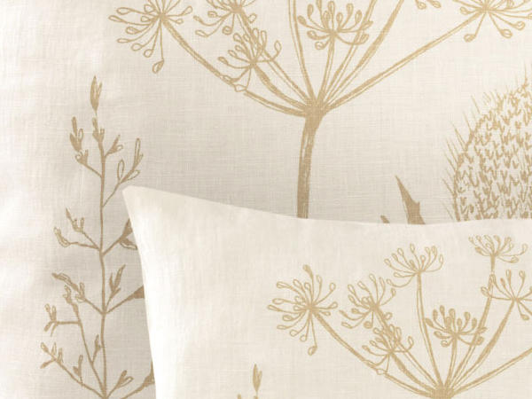 Linen cushion cover Pernille