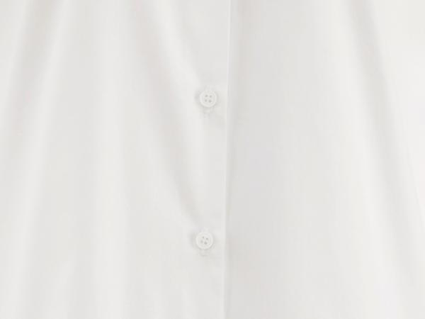 Longbluse aus reiner Bio-Baumwolle
