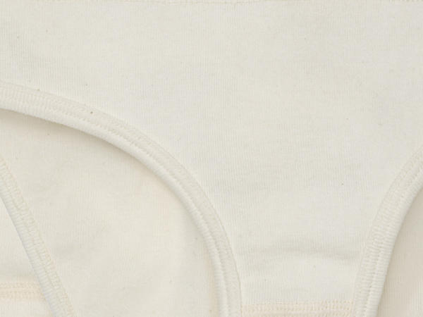 Mädchenslip 2er-Set aus reiner Bio-Baumwolle