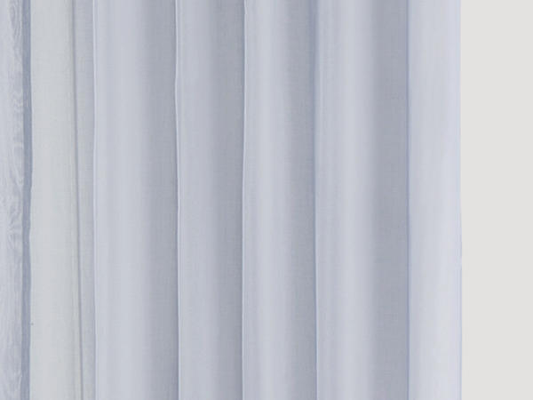 Marc curtain with loops made of pure organic cotton