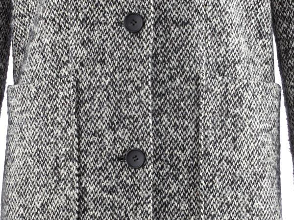 Maxi-Mantel aus reiner Schurwolle
