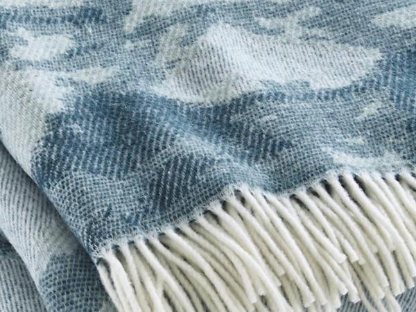 Merino plaid Jasugi made of pure new wool