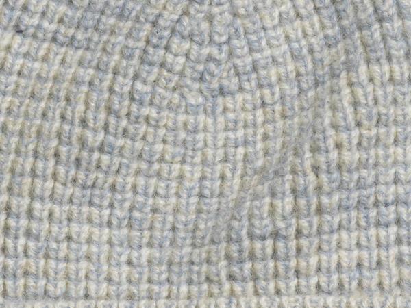 Mütze pflanzengefärbt aus reiner Bio-Merinowolle