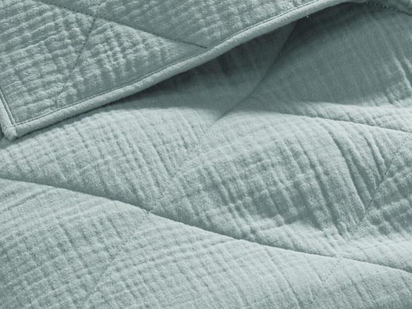 Musselin-Decke aus Bio-Baumwolle mit Wollfüllung