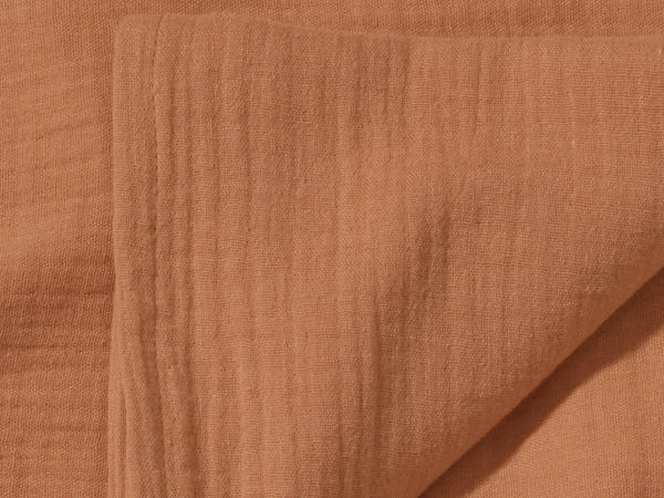 Musselin Pucktuch aus reiner Bio-Baumwolle
