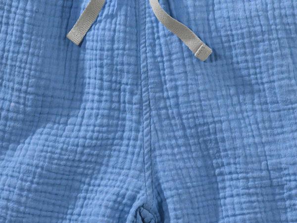 Musselin Shorts aus reiner Bio-Baumwolle