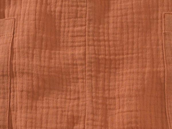 Musselin-Strampler aus reiner Bio-Baumwolle