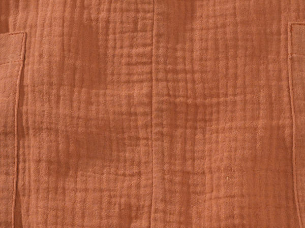 Musselin-Strampler aus reinr Bio-Baumwolle
