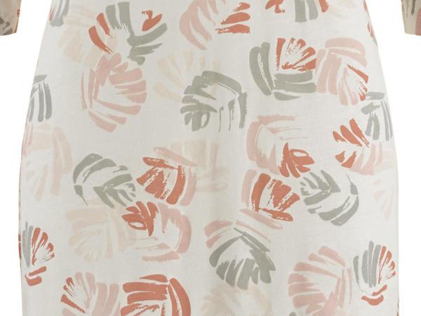 Nachthemd aus Bio-Baumwolle mit Seide