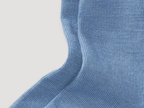 New wool sock with organic cotton