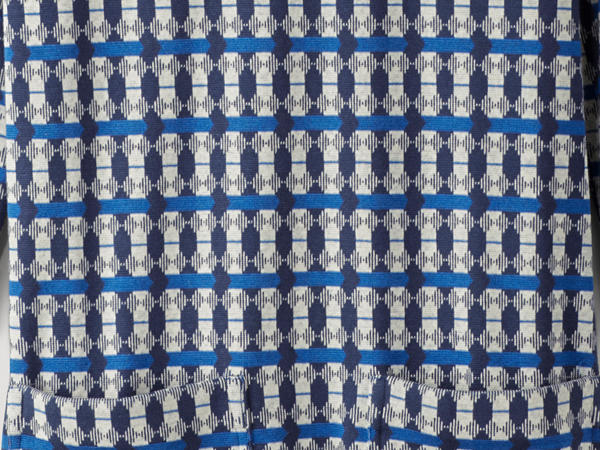 Organic cotton jacquard dress