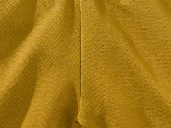 Organic cotton shorts with kapok