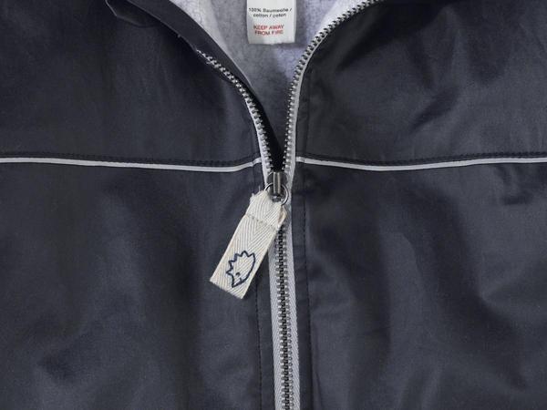 Outdoor Jacke aus reiner Bio-Baumwolle